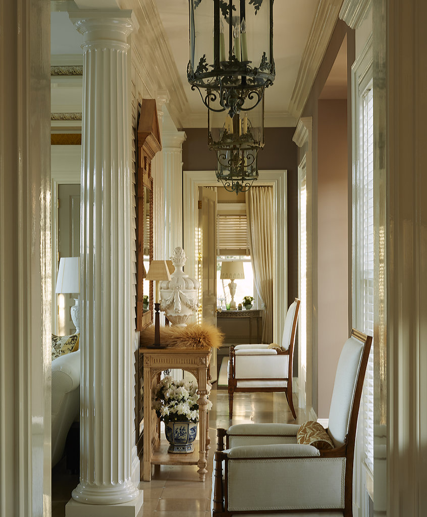 Interior Long Island - Arch / Design Marshall Watson - 'The Art Of Elegance' by Marshall Watson Publsh: Rizzoli 2017